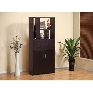 Angelena Wooden Fold Down Armoire Desk