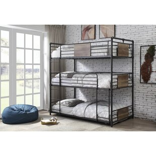 Reviews Booze Twin Triple Bunk Bed by Williston Forge Reviews (2019) & Buyer's Guide