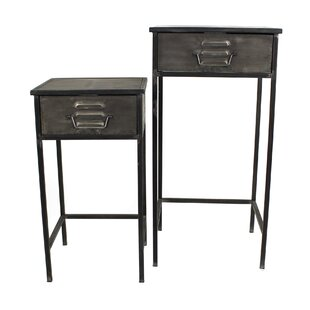 2 Piece Chaparosa Nesting Telephone Table Set By Williston Forge