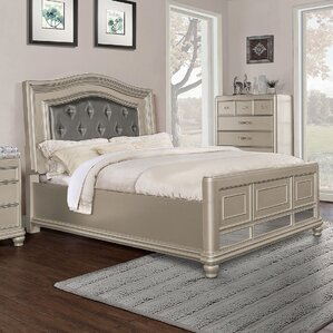Panel Bed by BestMasterFurniture