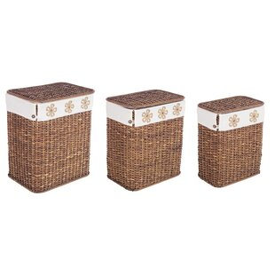 3 Piece Bamboo Laundry Set By August Grove