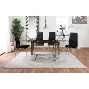 Fears Dining Set With 6 Chairs By Metro Lane