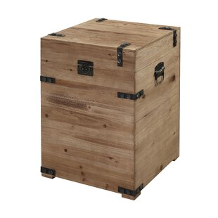 Harva Trunk End Table