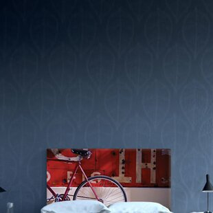 Inexpensive Asta Upholstered Panel Headboard by 17 Stories