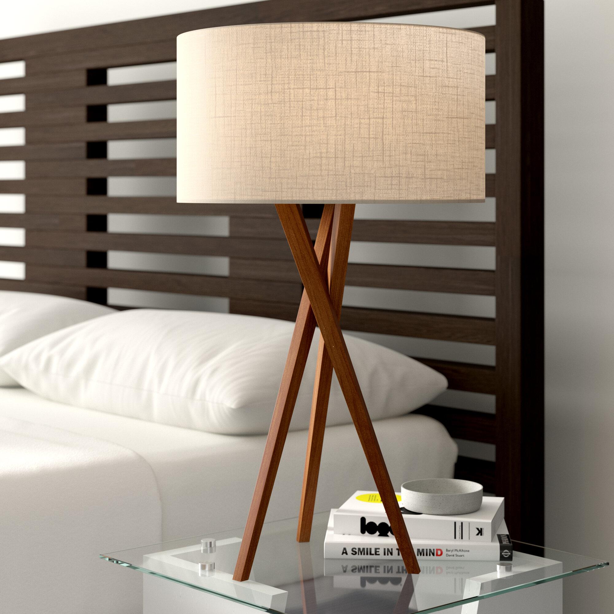 Fiona 30 Tripod Table Lamp Reviews Allmodern