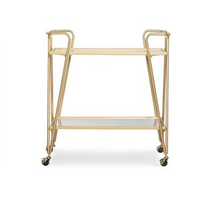 Laurence Mid-Century Bar Cart