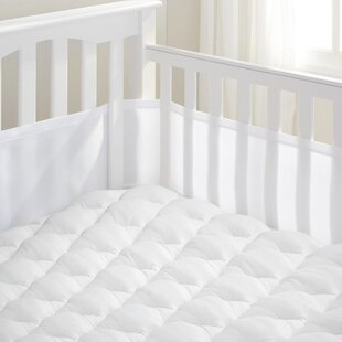 Affordable Jacquez 1.5 Crib Mattress Pad ByHarriet Bee
