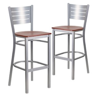 Alvera 30 Bar Stool (Set of 2) Ebern Designs