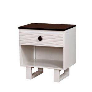 Nita 1 Drawer Nightstand by Viv + Rae