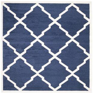 Find Maritza Navy/Beige Indoor/Outdoor Area Rug ByWilla Arlo Interiors