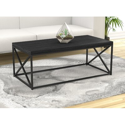 Landis Coffee Table With Tray Top