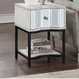 Wes End Table with Storage by Everly Quinn