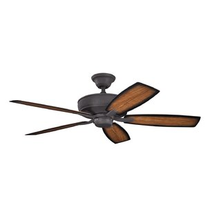Online Reviews 52 Carruthers 5-Blade Patio Ceiling Fan By Alcott Hill