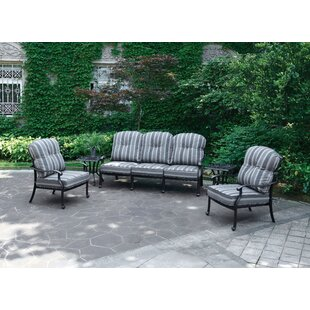 Bay Isle Home Montpelier Deep Seating Group with Cushions