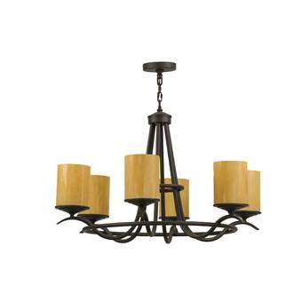 Fleur De Lis Living Gavril 8 Light Candle Style Wagon Wheel Chandelier Wayfair