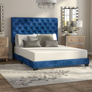 Volk Upholstered Panel Bed by House of Hampton