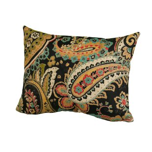 Hadia Paisley Indoor/Outdoor Throw Pillow