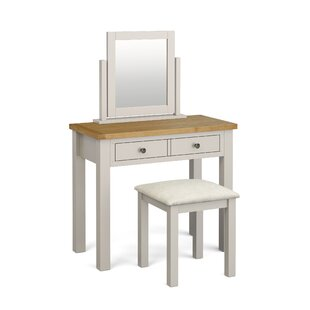 Asht Dressing Table With Mirror By August Grove