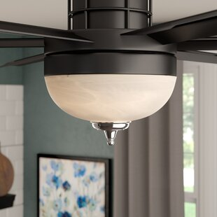 Savings 3-Light Bowl Ceiling Fan Light Kit By Three Posts
