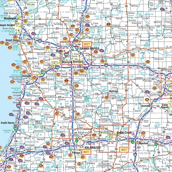 universal map michigan breweries and wineries map 40 x 28 wayfair michigan breweries and wineries map 40 x 28