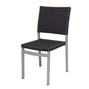 Fiji Weave Stacking Patio Dining Chair