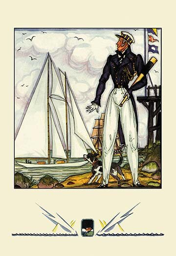 Buyenlarge The Yachtsman Painting Print Wayfair