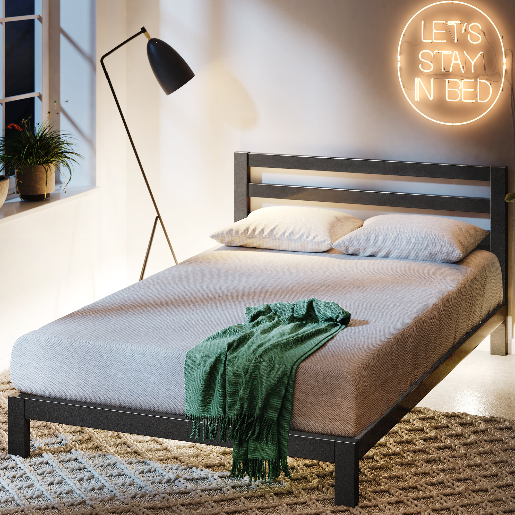 Modern Contemporary Beds Bed Frames You Ll Love In 2020 Wayfair