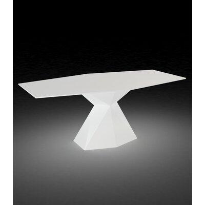 Vertex Plastic Dining Table by Vondom Herry Up