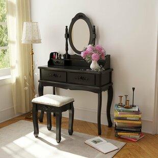 Ophelia & Co. TJ Vanity Set with Mirror