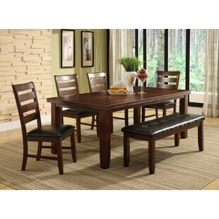 Lecroy 6 Piece Extendable Dining Set Millwood Pines