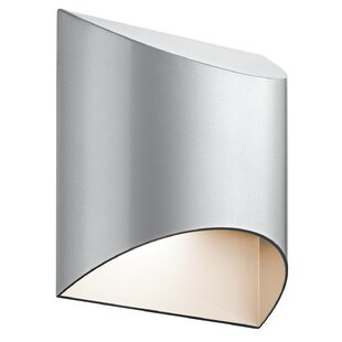 Orren Ellis Cyprien 1-Light Outdoor Flush Mount