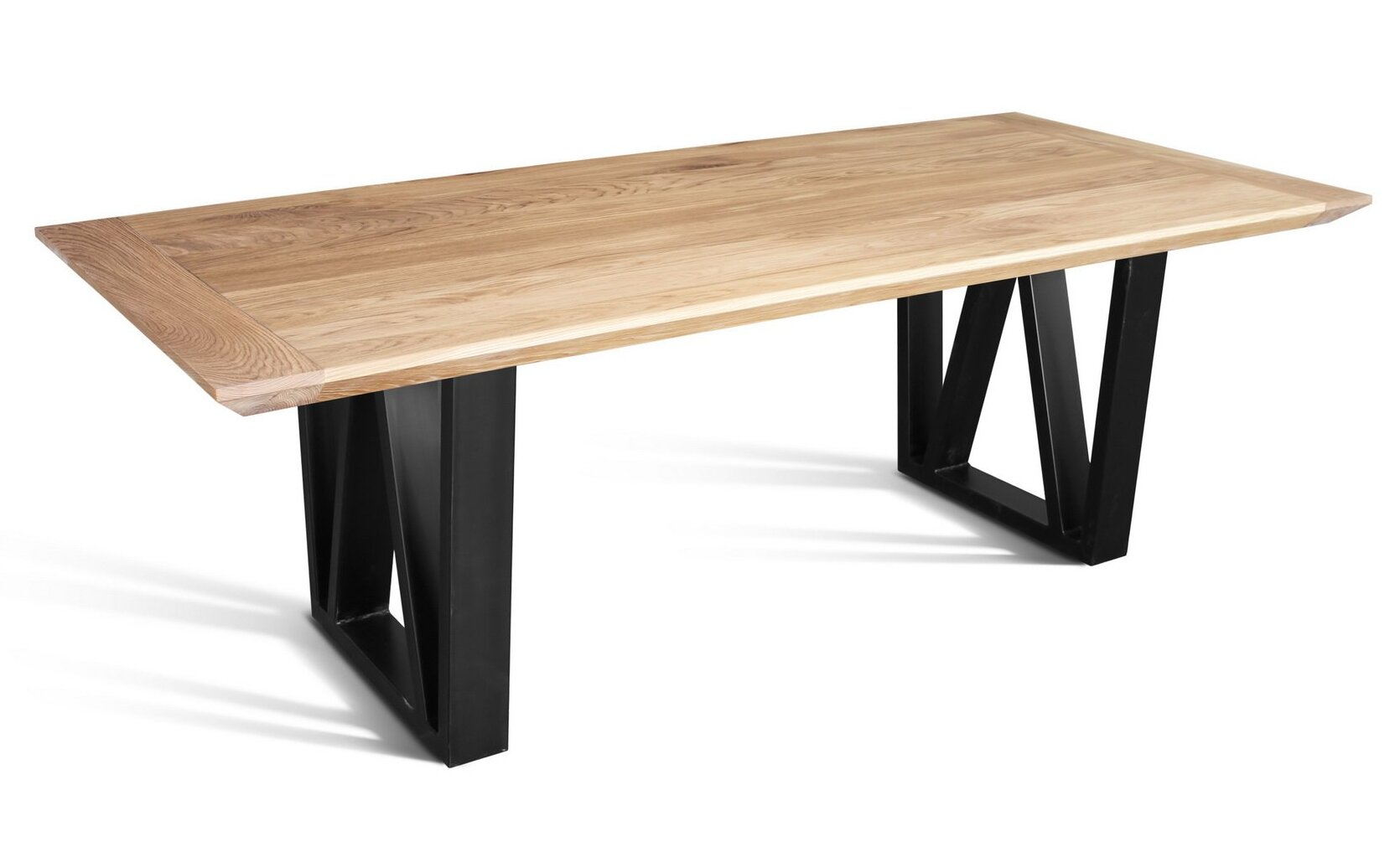 Double Pedestal Oak Commercial Dining Tables You Ll Love In 2021 Wayfair