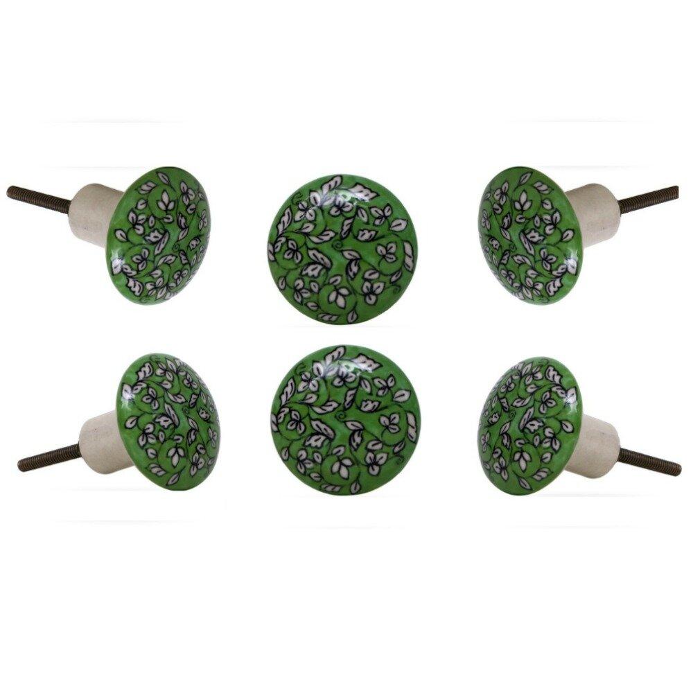Lijing Cabinet Handle Multifunctional Plastic Furniture Door Handle Cabinet Pulls Green Color : Green