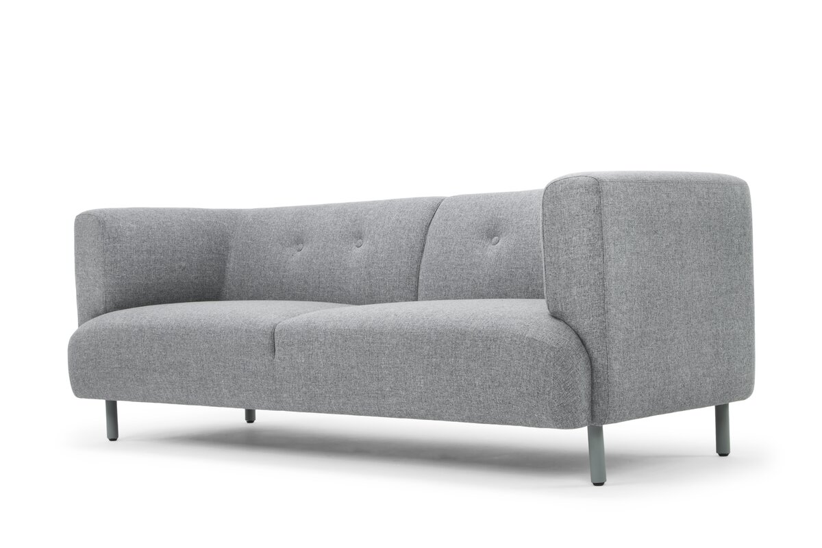 White chesterfield chair - Default_name