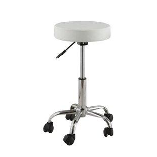 Hokku Designs Ava Adjustable Height Swivel Bar Stool
