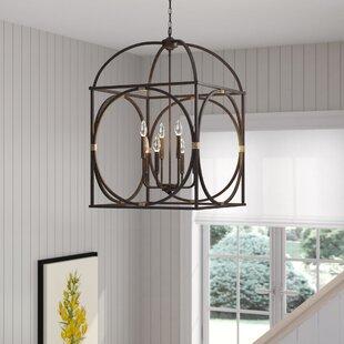 Laurel Foundry Modern Farmhouse Keene 8-Light Foyer Lantern Pendant