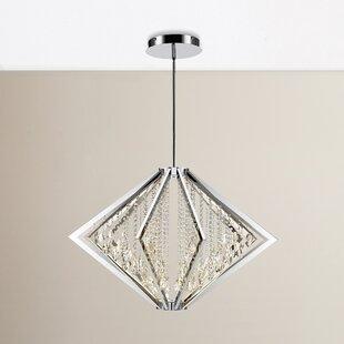 House of Hampton Rafaella LED Crystal Pendant