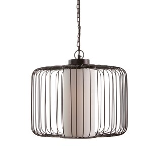 Urbano 1-Light Jar Pendant by World Menagerie