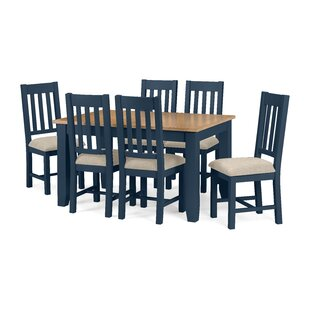 Tali Extendable Dining Set With 6 Chairs By August Grove