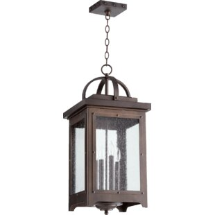 17 Stories Jeremy 4-Light Outdoor Hanging Lantern