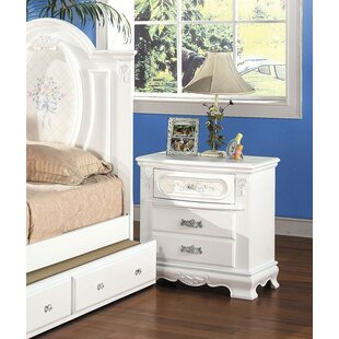 Egbert 2 Drawer Nightstand