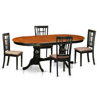 August Grove Pilcher 5 Piece Extendable Dining Set