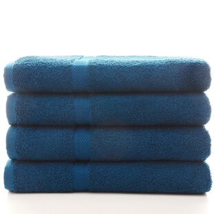 Bow 100% Cotton Bath Towel (Set of 4)