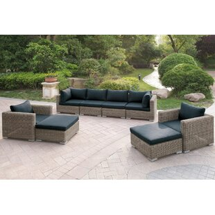8 Piece Sectional Set with Cushions By JB Patio