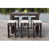 Motter 7 Piece Bar Height Dining Set with Cushions