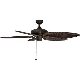 Affordable 52 Island Palm 5 Blade Ceiling Fan By Honeywell