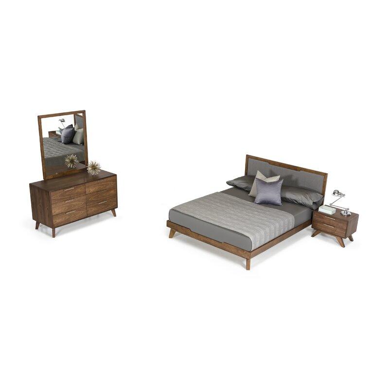 Allmodern Ronan Platform 5 Piece Bedroom Set Reviews Wayfair