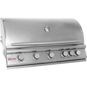 5-Burner Built-In Convertible Gas Grill