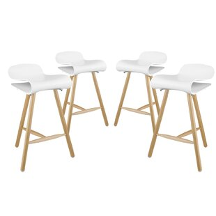 """Clip 27"""" Bar Stool (Set of 4) by"""
