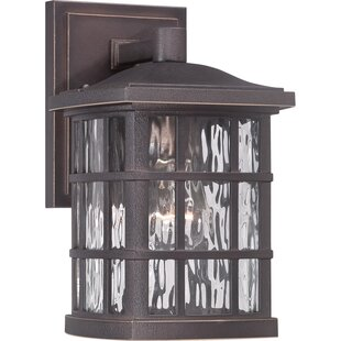 Brayden Studio Lockett 1-Light Outdoor Wall Lantern